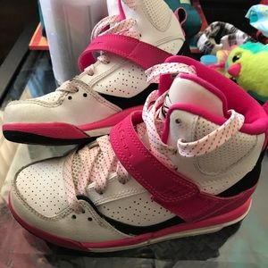 Girls Jordan flight high tops